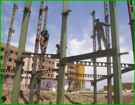 احداث ساختمان اداری بهداشت نظرآباد